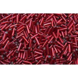 Canutilho Preciosa Vermelho Transparente 3Pol. 7mm (97090)