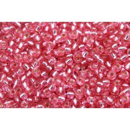 Miçanga Preciosa Rosa Transparente 5/0 (08275)
