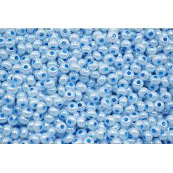 Miçanga Preciosa Azul Claro Perolado 9/0 (37365)
