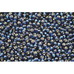 Miçanga Preciosa Azul Escuro Transparente 5/0 (67100)