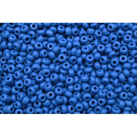 Miçanga Preciosa Azul Fosco 5/0 (33220)