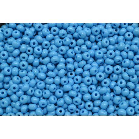 Miçanga Preciosa Azul Claro Fosco 5/0 (63020)