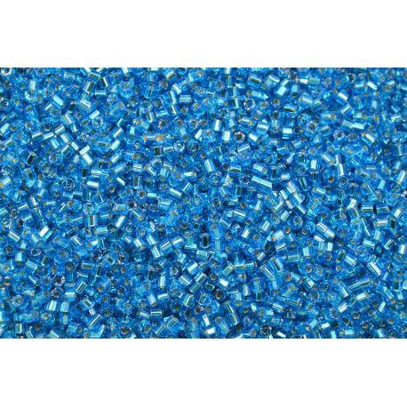 Vidrilho Preciosa Azul Metálico 2x9/0 (67030)