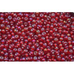 Miçanga Precisa Vermelho Transparente 9/0 (95078)