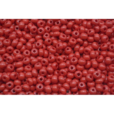 Miçanga Preciosa Vermelho Fosco 5/0 (93210)