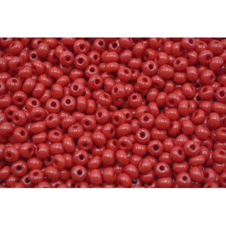 Miçanga Preciosa Vermelho Fosco 9/0 (93210)