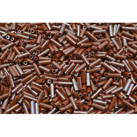 Canutilho Preciosa Marrom Perolado 3Pol. 7mm (10600)
