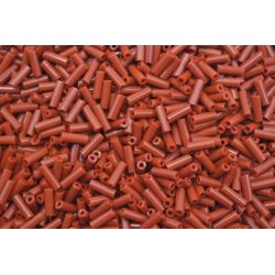 Canutilho Preciosa Marrom Fosco 3Pol. 7mm (13600)