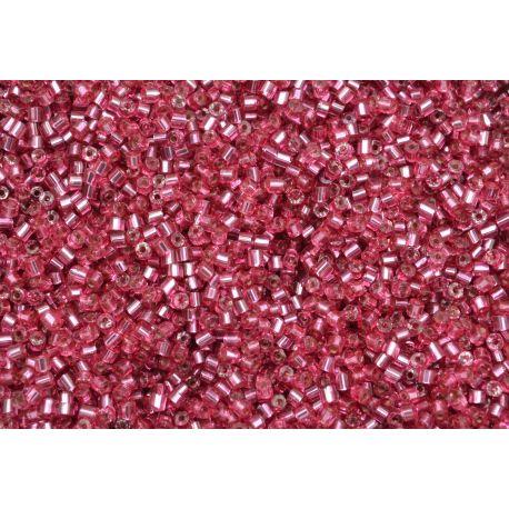 Vidrilho Preciosa Rosa Transparente 2x9/0 (08298)