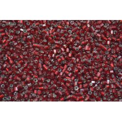 Vidrilho Preciosa Vermelho Tranparente 2x9/0 (97090)