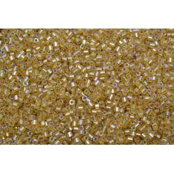 Vidrilho Preciosa Dourado Transparente Furta Cor 2x9/0 (16050)