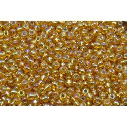 Miçanga Preciosa Ouro Transparente 9/0 (17020)