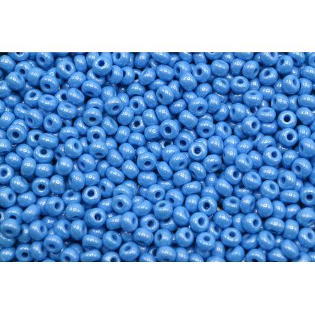 Miçanga Preciosa Azul Perolado Fosco 9/0 (68050)