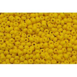 Miçanga Preciosa Amarelo Fosco 5/0 (83130)