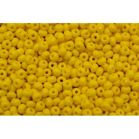 Miçanga Preciosa Amarelo Fosco 9/0 (83130)