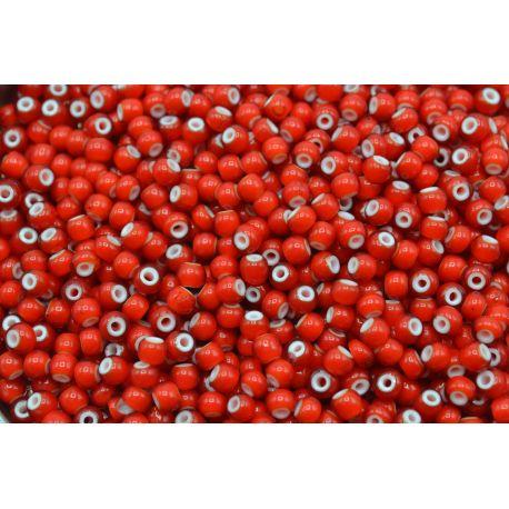 Miçanga Preciosa Vermelho Transparente 5/0 708109)