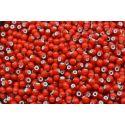 Miçanga Preciosa Vermelho Transparente 9/0 (708109)
