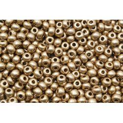 Miçanga Preciosa Dourado Fosco 2/0 (01710)