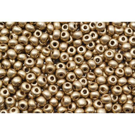 Miçanga Preciosa Dourado Fosco 12/0 (01710)