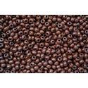 Miçanga Preciosa Marrom Escuro Fosco 5/0 (13780)
