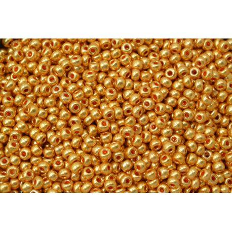 Miçanga Preciosa Ouro Fosco 9/0 (68388)