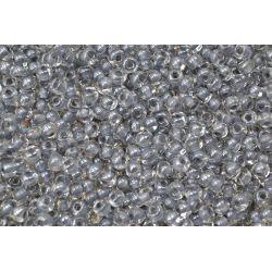 Miçanga Preciosa Cinza Transparente 5/0 (38642)