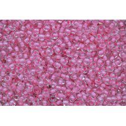 Miçanga Preciosa Rosa Tranparente 5/0 (38694)