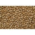 Miçanga Preciosa Twin Dourado Fosco 2,5x5mm (01710)