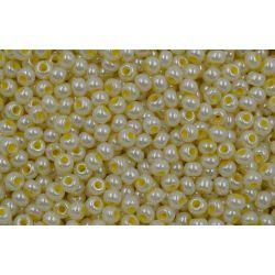Miçanga Preciosa Amarelo Perolado 5/0 (37386))