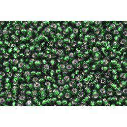 Miçanga Preciosa Verde Transparente 5/0 (57060)