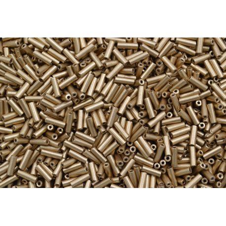 Canutilho Preciosa Dourado Fosco 3Pol. 7mm (01710)