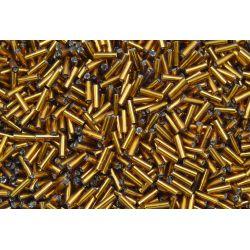 Canutilho Preciosa Dourado Mel Transparente 3Pol 7mm (17090)