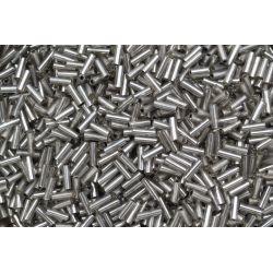 Canutilho Preciosa Cinza Transparente 3Pol 7mm (46010)