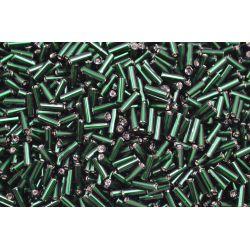 Canutilho Preciosa Verde Escuro Transparente 3Pol. 7mm (57150)