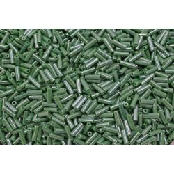 Canutilho Preciosa Verde Perolado 3Pol 7mm (58250)
