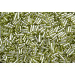 Canutilho Preciosa Verde Claro Transparente 3Pol 7mm (78153)