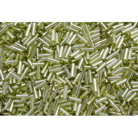 Canutilho Preciosa Verde Claro Transparente 3Pol 7mm (57100)