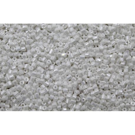 Vidrilho Preciosa Branco Fosco Perolado 2x9/0 (46102)