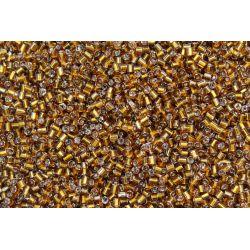 Vidrilho Preciosa Dourado Mel Transparente 2x9/0 (17090)