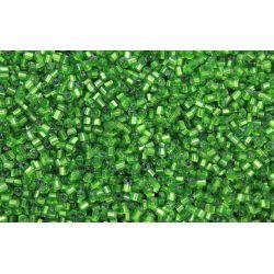 Vidrilho Preciosa Verde Transparente 2x9/0 (57430)