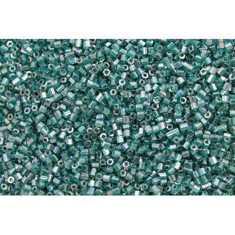 Vidrilho Preciosa Verde Esmeralda Transparente 2x9/0 (50710)