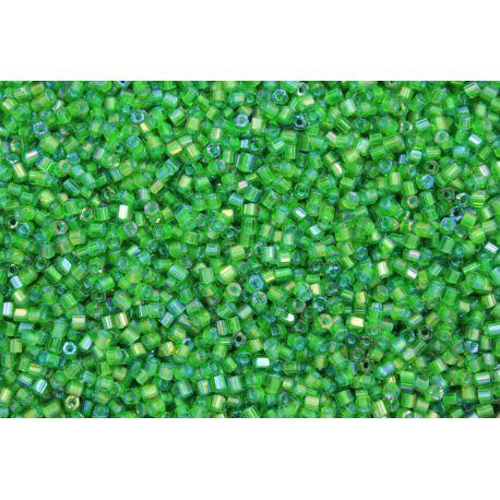 Vidrilho Preciosa Verde Transparente Aurora Boreal 2x9/0 (51430)
