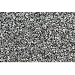 Vidrilho Preciosa Prata Fosco 2x9/0 (01700)
