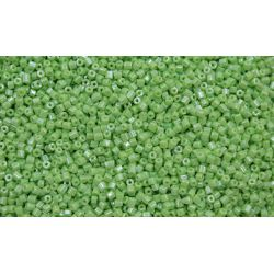 Vidrilho Preciosa Verde Claro Perolado 2x9/0 (58410)