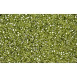 Vidrilho Preciosa Verde Claro Transparente 2x9/0 (78153)