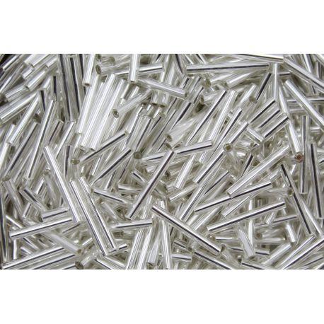 Canutilho Preciosa Prata Transparente 8,9Pol (78102)