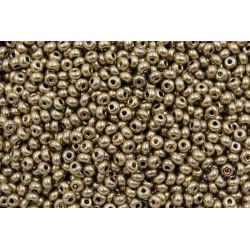 Miçanga Preciosa Bronze Claro Metálico 9/0 (59142)