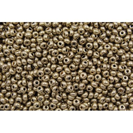 Miçanga Preciosa Bronze Claro Metálico 5/0 (59142)