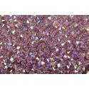 Preciosa Balão Cristal Roxo Aurora Boreal ( 20050) 4mm