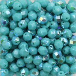 Cristal Preciosa Ornela Turquesa Opaco Aurora Boreal (63130/28701) 14mm